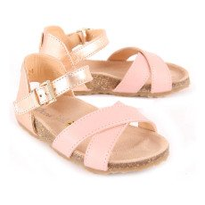 Ocra Cross Bridle Leather Sandals-listing