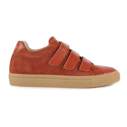 Polder Polder x National Standard Velcro Leather Trainers-listing