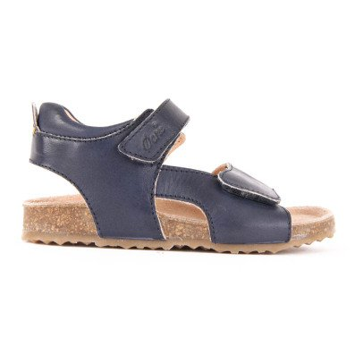 Ocra Velcro Leather Sandals-listing