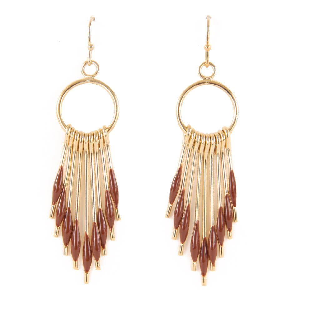 Polder Peggy Gold Earrings-product