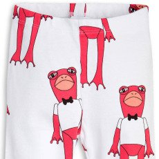 Mini Rodini Organic Cotton Frog Leggings-listing