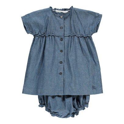 Burberry Saffron Button Up Light Dress-listing