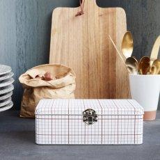 House Doctor Lunch box de cuadros pequeños-listing