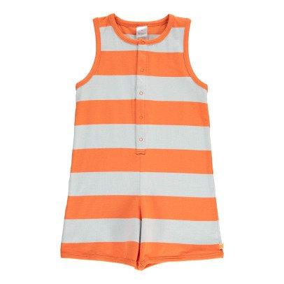 tinycottons Kurzer Overall mit Streifen Orange -listing