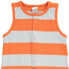 tinycottons Combi-Short Larges Rayures Orange-product