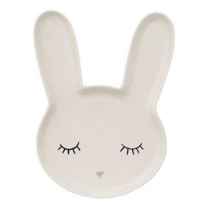 Bloomingville Kids Rabbit Sandstone Plate-listing