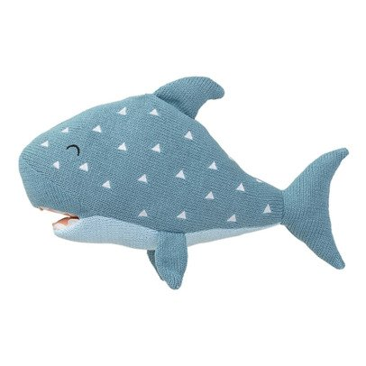 Bloomingville Kids Shark Cushion-listing
