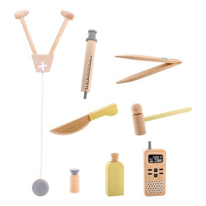 Bloomingville Kids Set de doctor de madera-listing