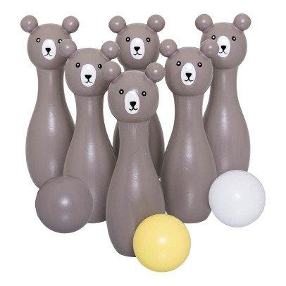 Bloomingville Kids Jeu de bowling ours-listing