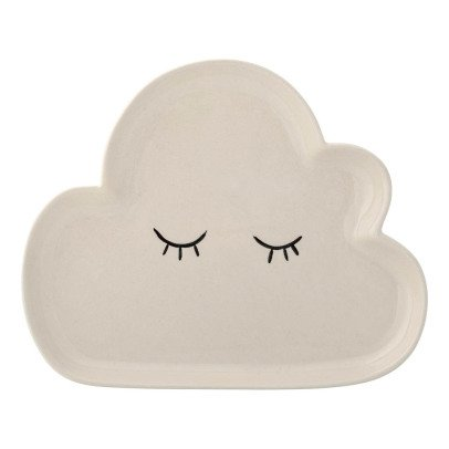 Bloomingville Kids Assiette en grès Smilla grand nuage-listing