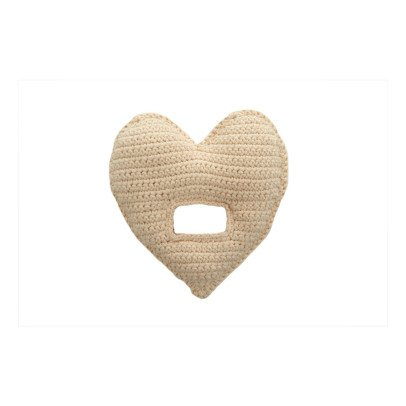 Anne-Claire Petit Crochet Heart Rattle-product