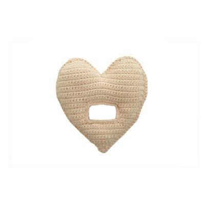 Anne-Claire Petit Sonajero corazón de crochet-listing