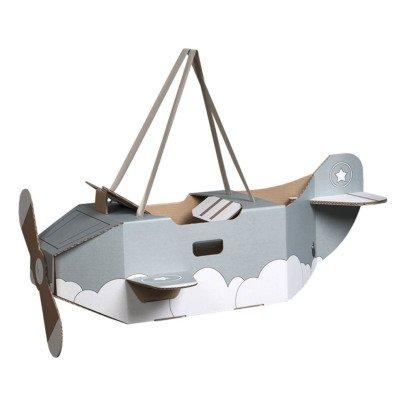 Mister Tody Cardboard Aeroplane Costume-listing