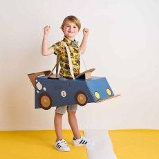 Mister Tody Disfraz coche de cartón-listing