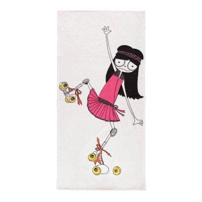 Little Marc Jacobs Rollerskate Miss Mark Bath Towel-product