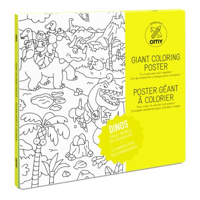 Omy Dinos Giant Colouring Poster-listing