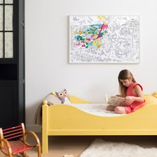 Omy Dinos Giant Colouring Poster-product