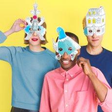 Omy Máscaras para colorear Paris - Set de 8-product