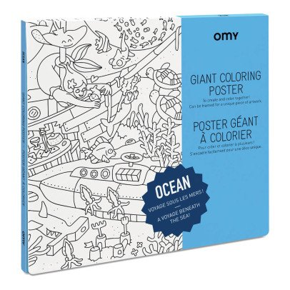 Omy Póster gigante para colorear Océano-listing