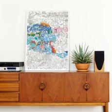 Omy Poster géant à colorier Océan-product