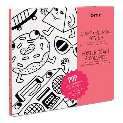 Omy Póster gigante para colorear Pop-listing