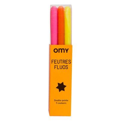 Omy Feutres fluo - Boîte de 9-product