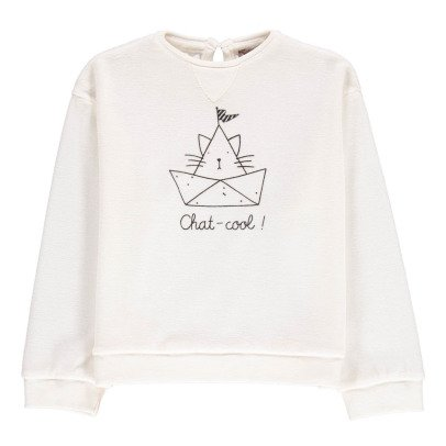 Emile et Ida Cool Cat Sweatshirt-listing