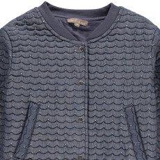 Emile et Ida Quilted Lurex Embroidred Chamray Jacket-product