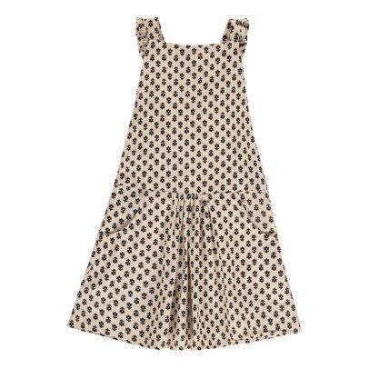 Emile et Ida Sunflower Pinafore Dress-product