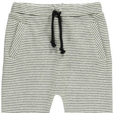 Milk on the Rocks Peanut Stripe Harem Jogging Bottoms-listing