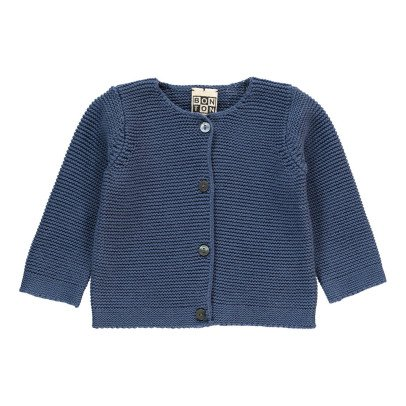 Bonton Moss Stitch Cardigan-product