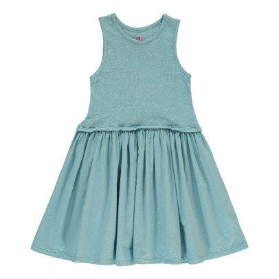Bonton Dual-Material Dress-product