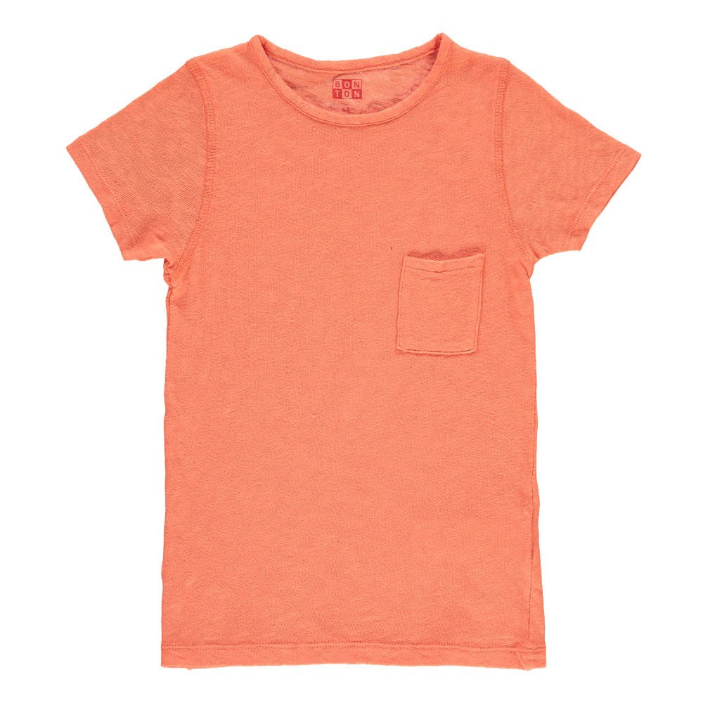 Flecked T-Shirt with Pocket-product