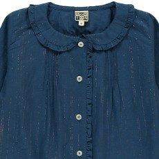 Bonton Lupin Lurex Striped Blouse-listing