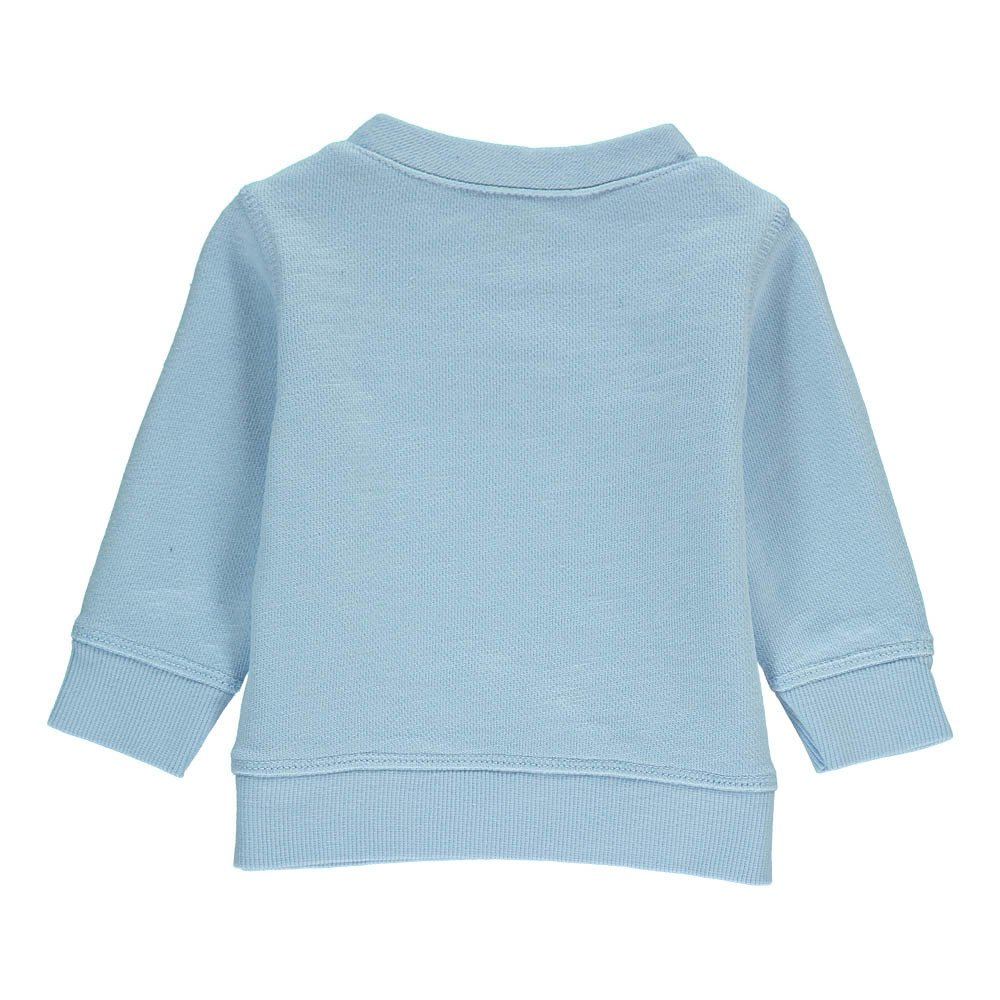 "Bonton ""Swim"" Whale Sweatshirt-product"
