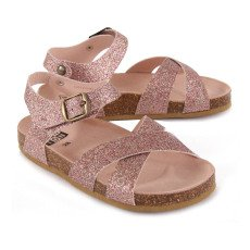 Bonton Glitter Cross Sandals-listing