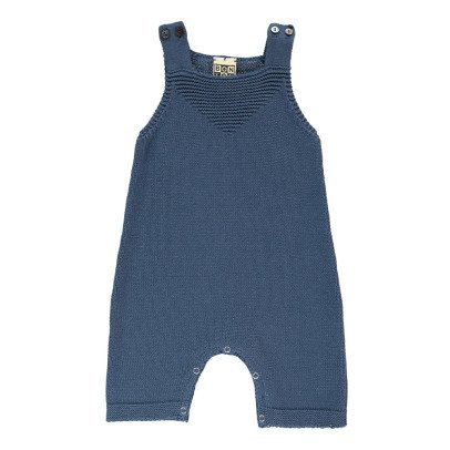 Bonton Knitted Jumpsuit with Braces-product