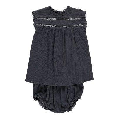 Bonton Luna Lace Dress + Bloomers-product