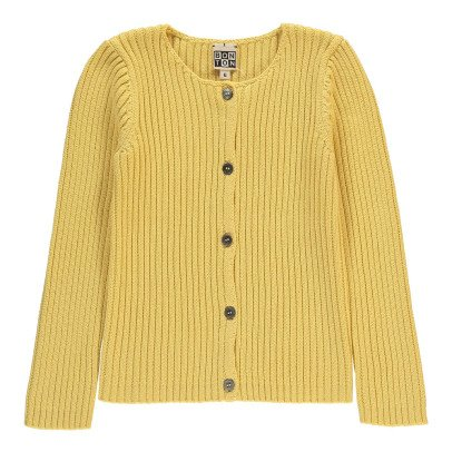 Bonton Ribbed Cardigan-listing