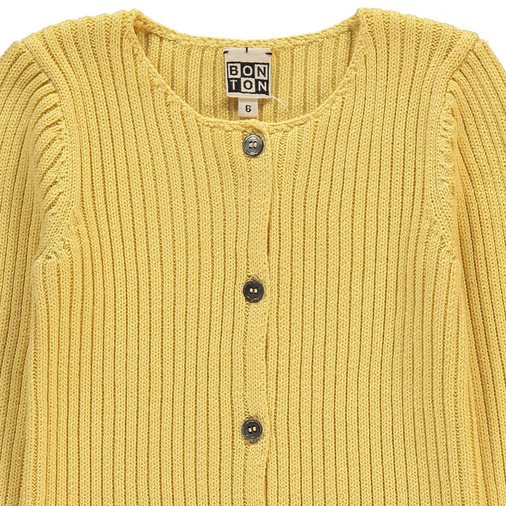 Ribbed Cardigan-product