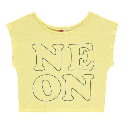 "Bonton ""Neon"" Cropped T-Shirt-product"