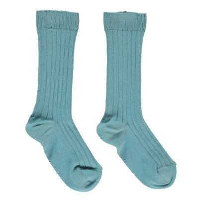 Bonton Ribbed Socks-product