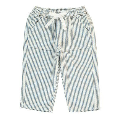 Bonton Dolphin Striped Trousers-listing