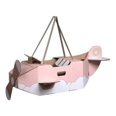 Mister Tody Kostüm Flugzeug aus Pappe -listing