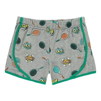 Milk on the Rocks Saturne Racket Towelling Shorts-listing