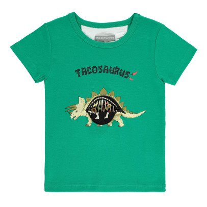 Milk on the Rocks Tyler Tacosaurus T-Shirt -listing