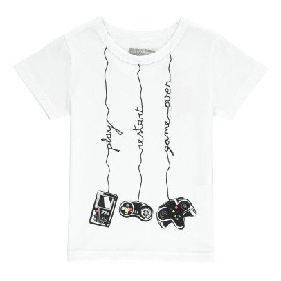 Milk on the Rocks Tyler Video Geek T-Shirt-listing