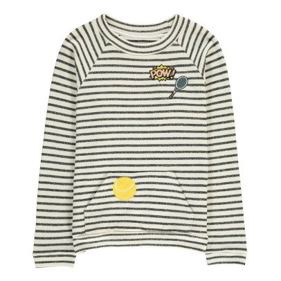 Milk on the Rocks Sancho Tennis Court Sweatshirt-listing