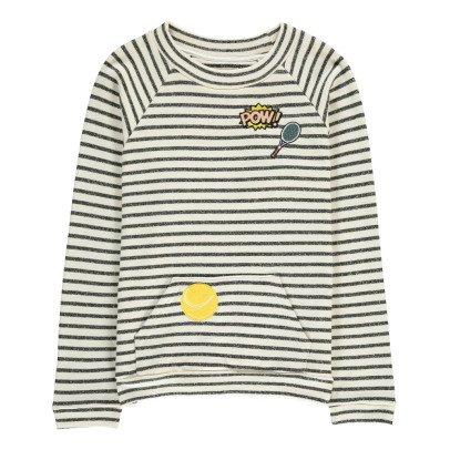 Milk on the Rocks Sancho Tennis Court Sweatshirt-listing