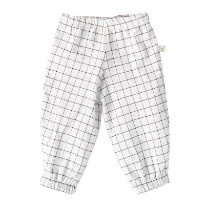 Bacabuche Checked Harem Trousers-listing